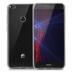 Cover Silicone Trasparente Ultra Sottile Morbida T02 per Huawei Honor 8 Lite Chiaro