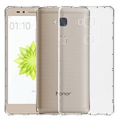 Cover Silicone Trasparente Ultra Sottile Morbida T02 per Huawei Honor Play 5X Chiaro