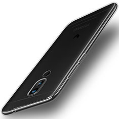 Cover Silicone Trasparente Ultra Sottile Morbida T02 per Huawei Mate 10 Lite Chiaro