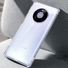 Cover Silicone Trasparente Ultra Sottile Morbida T02 per Huawei Mate 40 Chiaro