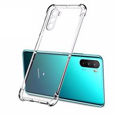 Cover Silicone Trasparente Ultra Sottile Morbida T02 per Huawei Mate 40 Lite 5G Chiaro