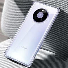 Cover Silicone Trasparente Ultra Sottile Morbida T02 per Huawei Mate 40 Pro Chiaro