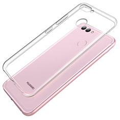 Cover Silicone Trasparente Ultra Sottile Morbida T02 per Huawei Nova 2 Chiaro