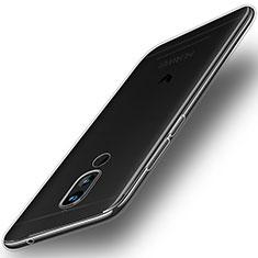 Cover Silicone Trasparente Ultra Sottile Morbida T02 per Huawei Nova 2i Chiaro
