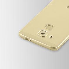 Cover Silicone Trasparente Ultra Sottile Morbida T02 per Huawei Nova Plus Chiaro