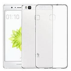 Cover Silicone Trasparente Ultra Sottile Morbida T02 per Huawei P9 Lite Chiaro