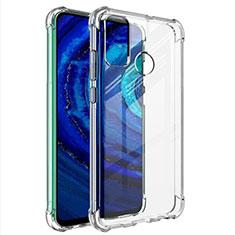 Cover Silicone Trasparente Ultra Sottile Morbida T02 per Huawei Y8s Chiaro