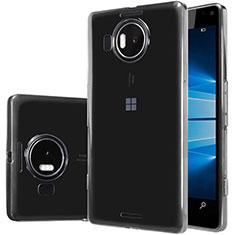 Cover Silicone Trasparente Ultra Sottile Morbida T02 per Microsoft Lumia 950 XL Chiaro
