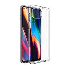 Cover Silicone Trasparente Ultra Sottile Morbida T02 per Motorola Moto G 5G Plus Chiaro