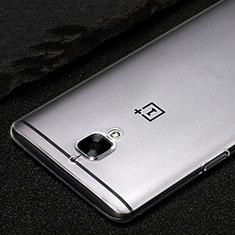 Cover Silicone Trasparente Ultra Sottile Morbida T02 per OnePlus 3 Chiaro