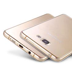 Cover Silicone Trasparente Ultra Sottile Morbida T02 per Samsung Galaxy A9 Pro (2016) SM-A9100 Chiaro