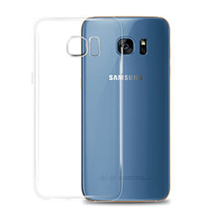 Cover Silicone Trasparente Ultra Sottile Morbida T02 per Samsung Galaxy S7 G930F G930FD Chiaro