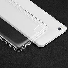 Cover Silicone Trasparente Ultra Sottile Morbida T02 per Xiaomi Mi 4i Chiaro