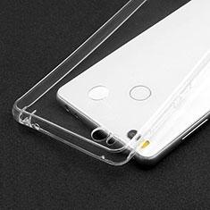 Cover Silicone Trasparente Ultra Sottile Morbida T02 per Xiaomi Mi 4S Chiaro