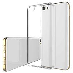 Cover Silicone Trasparente Ultra Sottile Morbida T02 per Xiaomi Mi 5 Chiaro