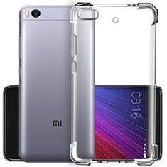 Cover Silicone Trasparente Ultra Sottile Morbida T02 per Xiaomi Mi 5S Chiaro