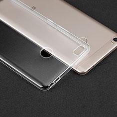 Cover Silicone Trasparente Ultra Sottile Morbida T02 per Xiaomi Mi Max Chiaro
