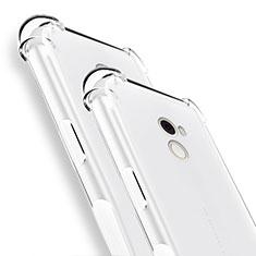 Cover Silicone Trasparente Ultra Sottile Morbida T02 per Xiaomi Mi Mix 2 Chiaro