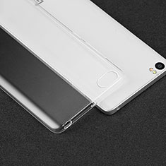 Cover Silicone Trasparente Ultra Sottile Morbida T02 per Xiaomi Mi Note Chiaro