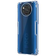 Cover Silicone Trasparente Ultra Sottile Morbida T02 per Xiaomi Poco X3 NFC Chiaro