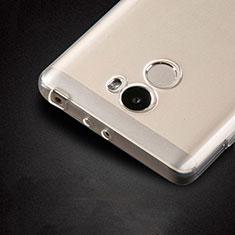 Cover Silicone Trasparente Ultra Sottile Morbida T02 per Xiaomi Redmi 4 Standard Edition Chiaro