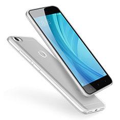 Cover Silicone Trasparente Ultra Sottile Morbida T02 per Xiaomi Redmi Note 5A Prime Chiaro