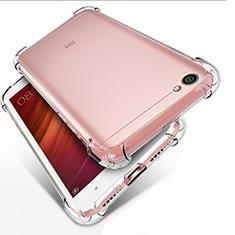Cover Silicone Trasparente Ultra Sottile Morbida T02 per Xiaomi Redmi Note 5A Standard Edition Chiaro