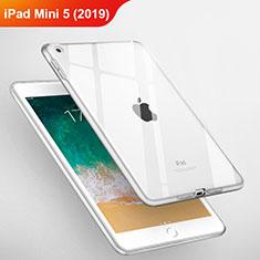 Cover Silicone Trasparente Ultra Sottile Morbida T03 per Apple iPad Mini 5 (2019) Chiaro