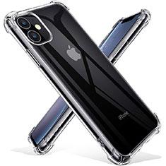 Cover Silicone Trasparente Ultra Sottile Morbida T03 per Apple iPhone 11 Chiaro