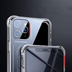 Cover Silicone Trasparente Ultra Sottile Morbida T03 per Apple iPhone 11 Pro Chiaro