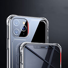 Cover Silicone Trasparente Ultra Sottile Morbida T03 per Apple iPhone 11 Pro Max Chiaro