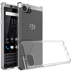 Cover Silicone Trasparente Ultra Sottile Morbida T03 per Blackberry KEYone Chiaro