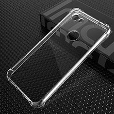 Cover Silicone Trasparente Ultra Sottile Morbida T03 per Google Pixel 3 XL Chiaro