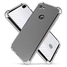 Cover Silicone Trasparente Ultra Sottile Morbida T03 per Google Pixel 3a XL Chiaro