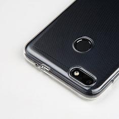 Cover Silicone Trasparente Ultra Sottile Morbida T03 per Huawei Enjoy 7 Chiaro