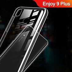 Cover Silicone Trasparente Ultra Sottile Morbida T03 per Huawei Enjoy 9 Plus Chiaro