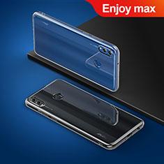 Cover Silicone Trasparente Ultra Sottile Morbida T03 per Huawei Enjoy Max Chiaro