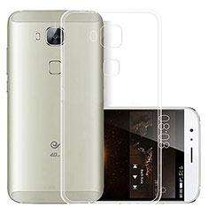 Cover Silicone Trasparente Ultra Sottile Morbida T03 per Huawei G8 Chiaro