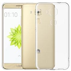 Cover Silicone Trasparente Ultra Sottile Morbida T03 per Huawei G9 Plus Chiaro