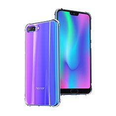 Cover Silicone Trasparente Ultra Sottile Morbida T03 per Huawei Honor 10 Chiaro
