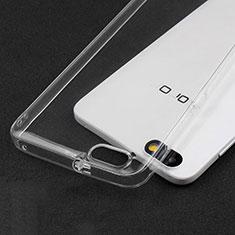 Cover Silicone Trasparente Ultra Sottile Morbida T03 per Huawei Honor 4X Chiaro