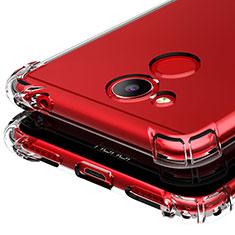 Cover Silicone Trasparente Ultra Sottile Morbida T03 per Huawei Honor 6C Pro Chiaro