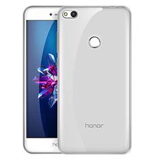 Cover Silicone Trasparente Ultra Sottile Morbida T03 per Huawei Honor 8 Lite Chiaro