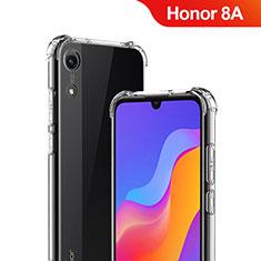 Cover Silicone Trasparente Ultra Sottile Morbida T03 per Huawei Honor 8A Chiaro