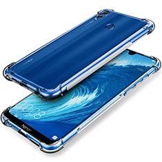 Cover Silicone Trasparente Ultra Sottile Morbida T03 per Huawei Honor 8X Max Chiaro