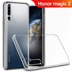 Cover Silicone Trasparente Ultra Sottile Morbida T03 per Huawei Honor Magic 2 Chiaro