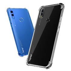 Cover Silicone Trasparente Ultra Sottile Morbida T03 per Huawei Honor Note 10 Chiaro