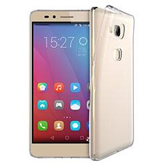 Cover Silicone Trasparente Ultra Sottile Morbida T03 per Huawei Honor Play 5X Chiaro