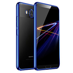 Cover Silicone Trasparente Ultra Sottile Morbida T03 per Huawei Mate 10 Blu