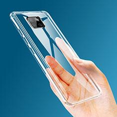 Cover Silicone Trasparente Ultra Sottile Morbida T03 per Huawei Mate 20 Pro Chiaro